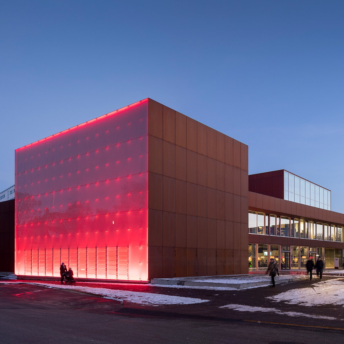The New Vendsyssel Theatre Opens to Public in Hjørring, Denmark