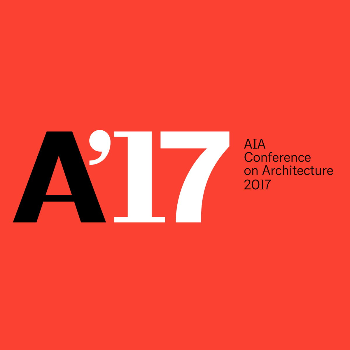 AIA Conference on Architecture 2017