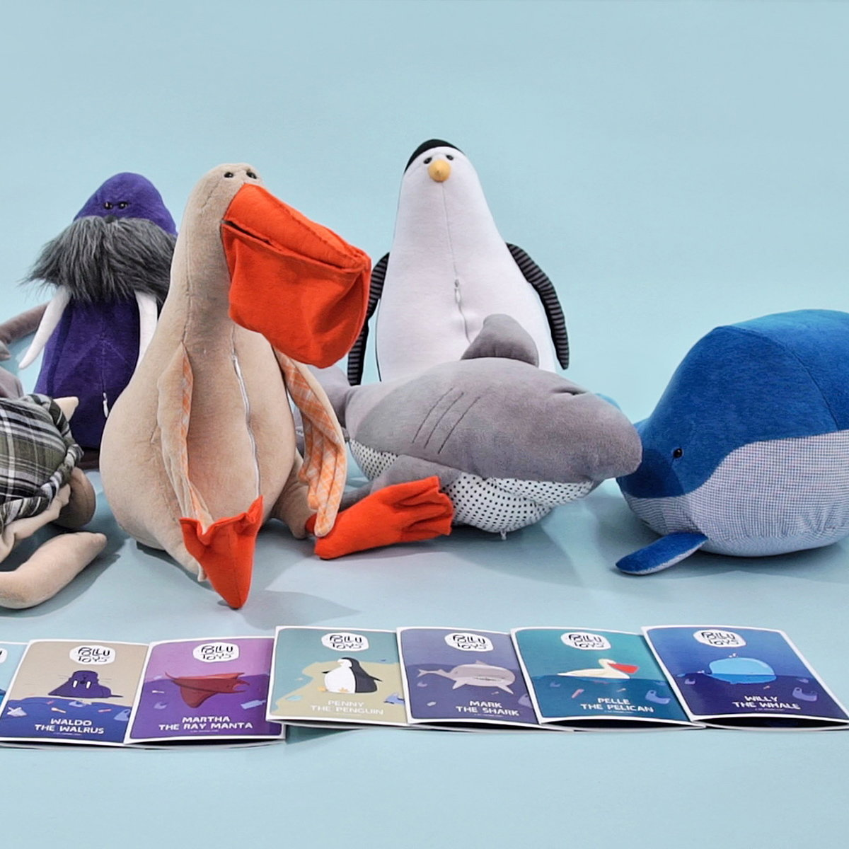 Pollutoys - Plush Toys to Teach Kids About Plastic Pollution