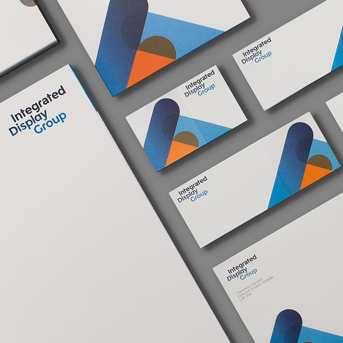 typotherapy Creates New Identity for Integrated Display Group