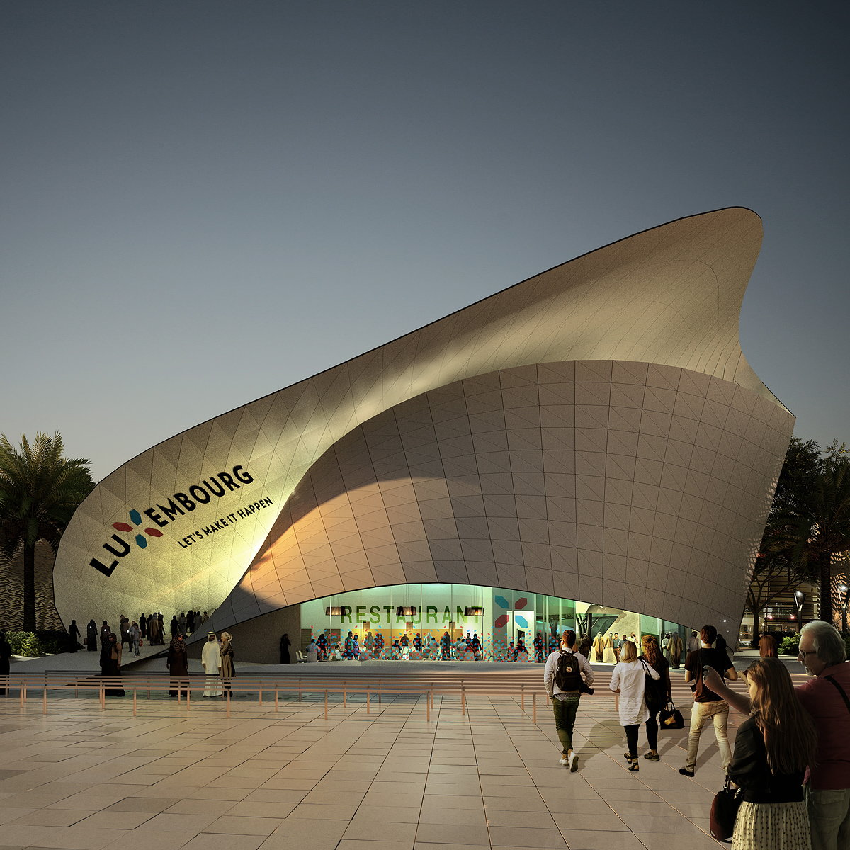 Luxembourg Pavilion for Expo 2020 Dubai
