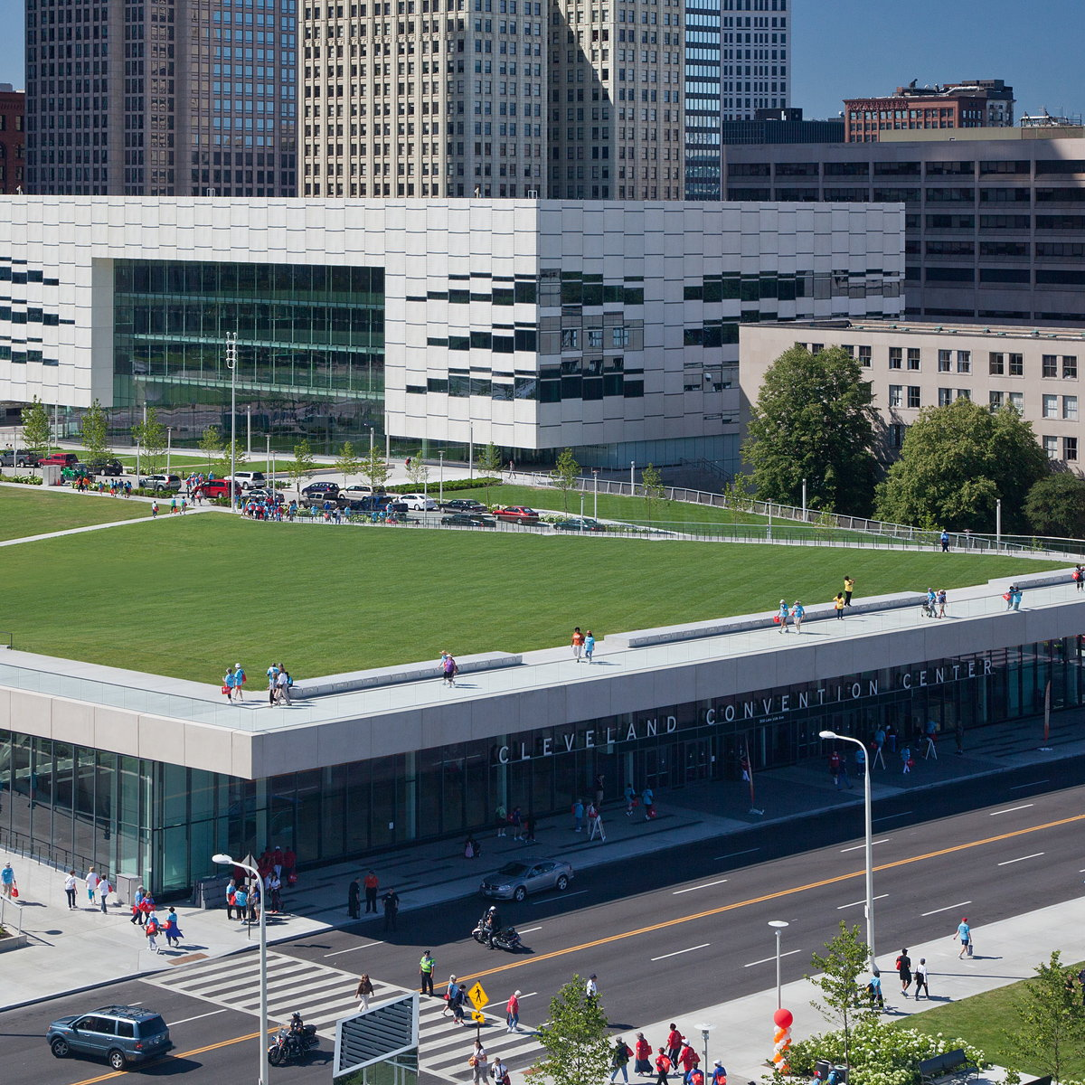 Cleveland Civic Core Complex Wins 2017 National AIA Honor Award for Regional and Urban Design