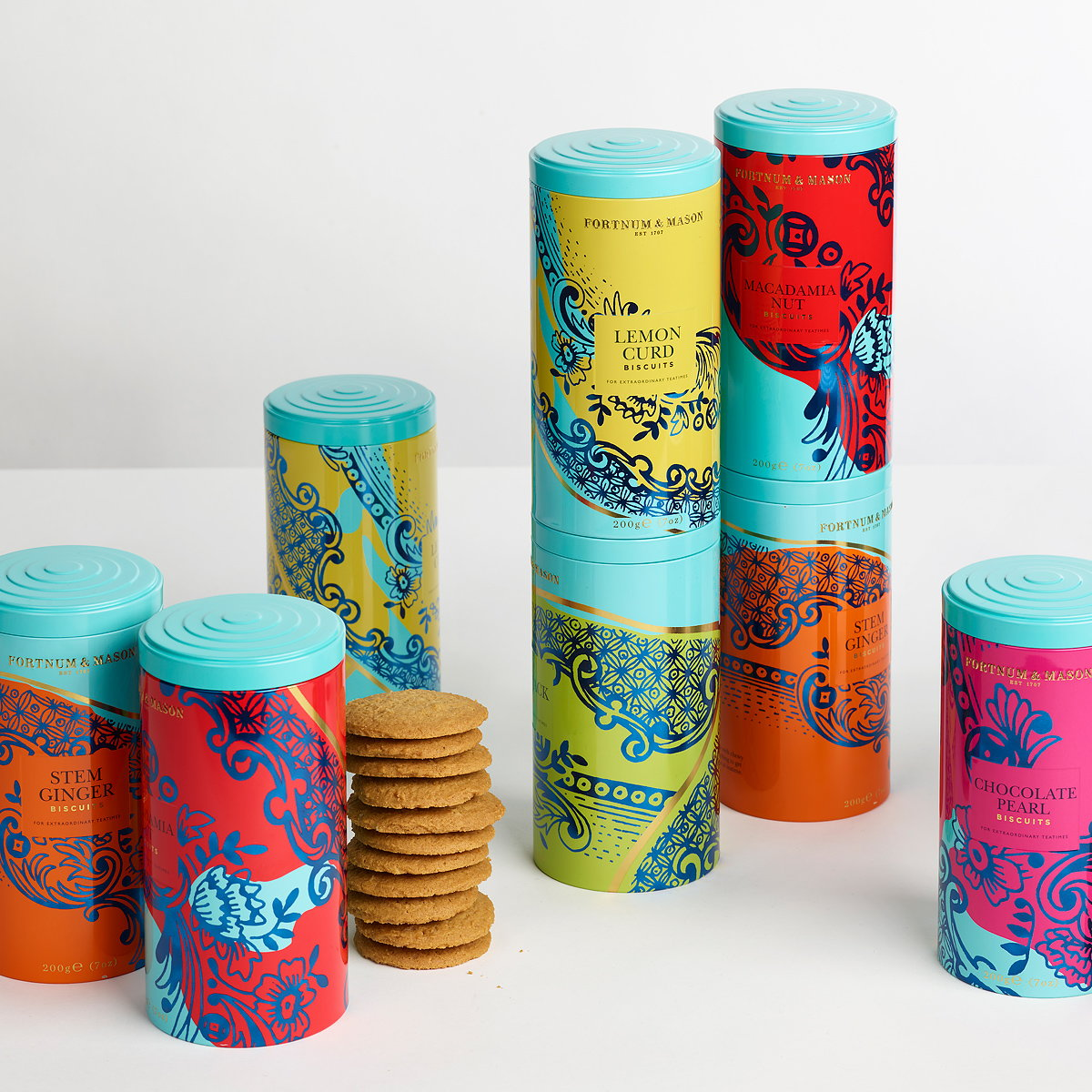Design Bridge Creates Vibrant Packaging for Fortnum