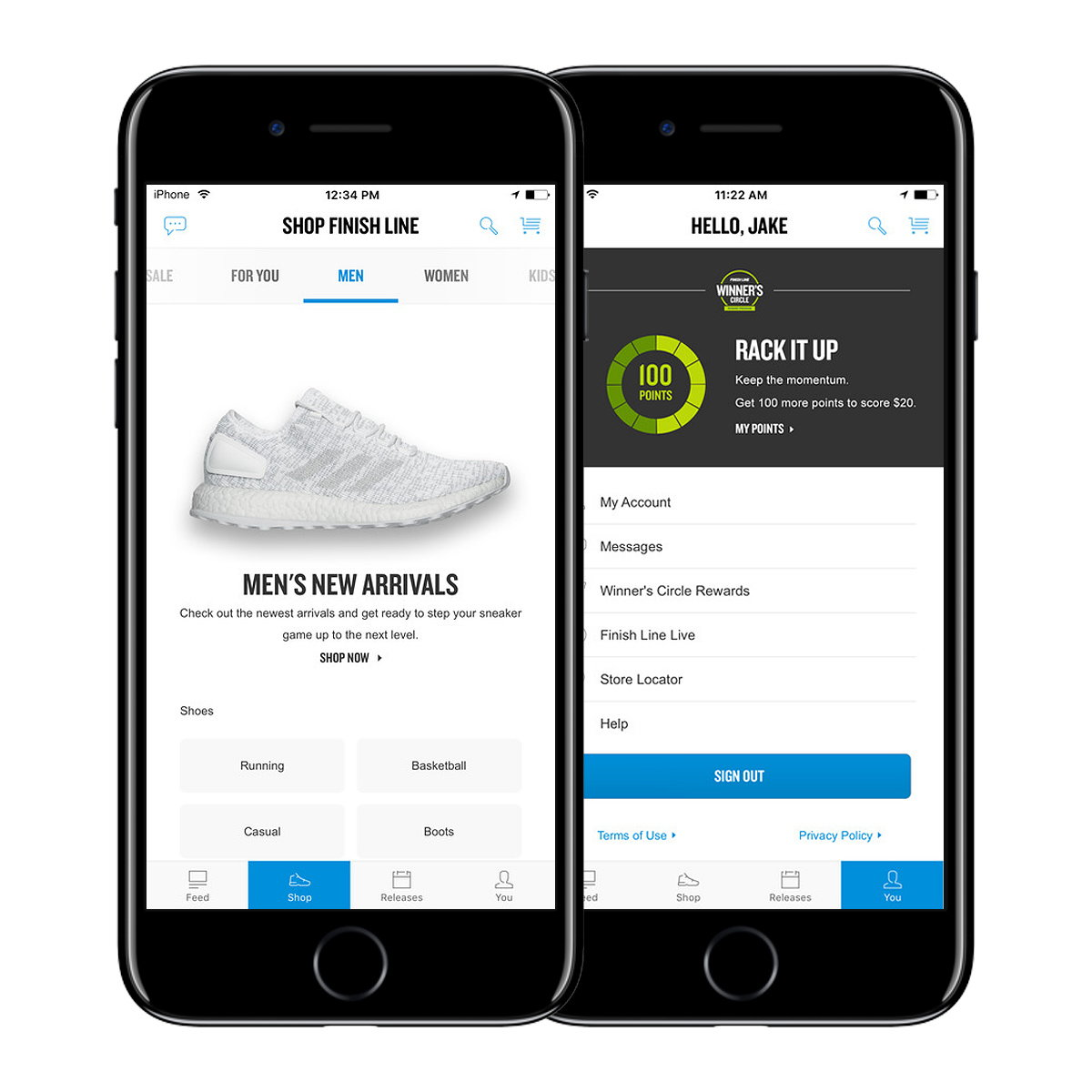 Finish Line Taps Creative Consultancy Green Stone to Craft a New Generation of Mobile App