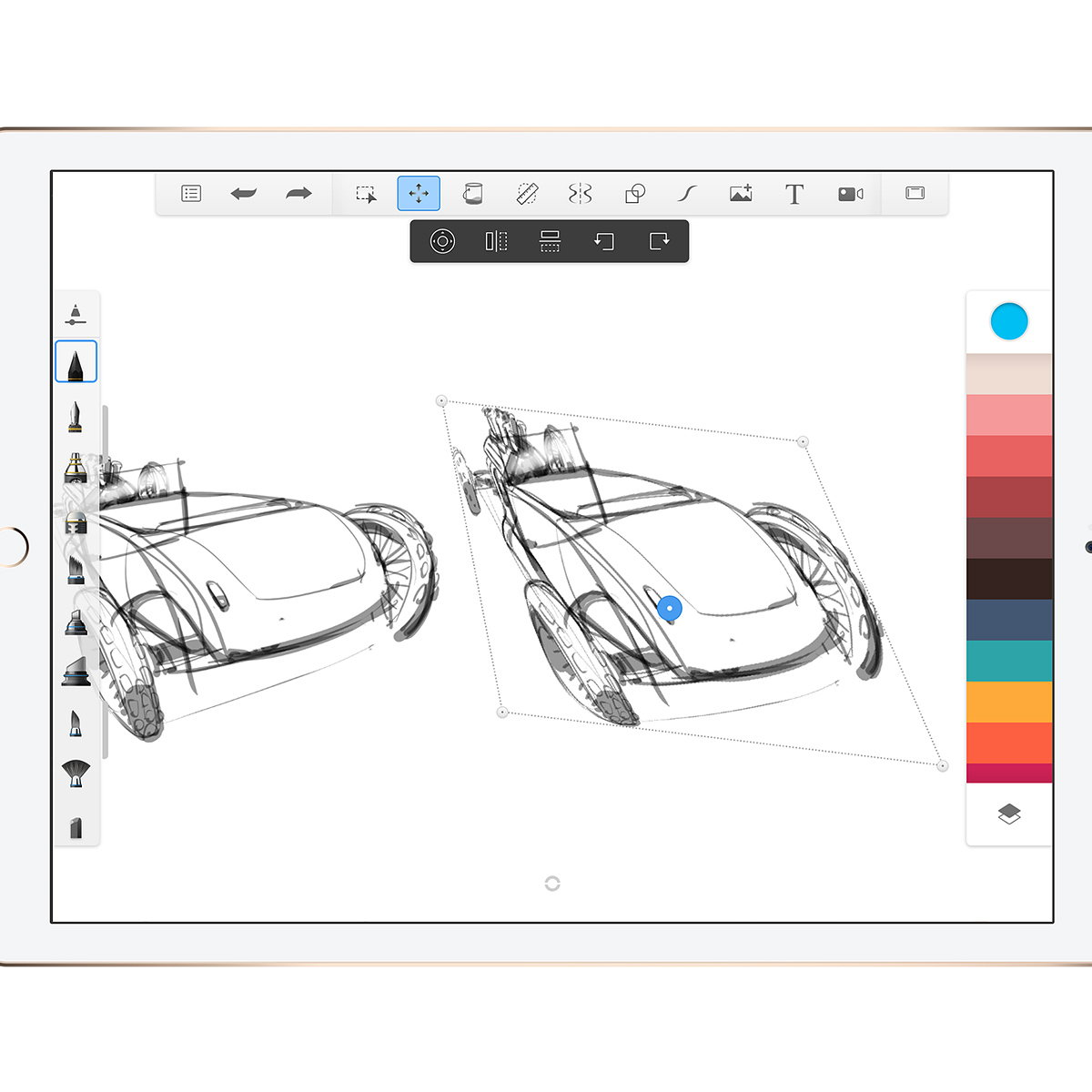 Autodesk SketchBook 4 0 for iOS Arrives in the App Store