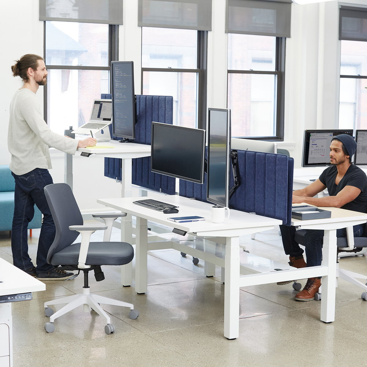 Poppin Launches Sit-Stand Solution for The Modern Workspace