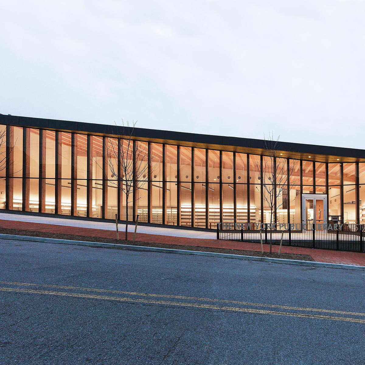 Andrew Berman Architect Renovates and Expands New York Public Library Stapleton Branch