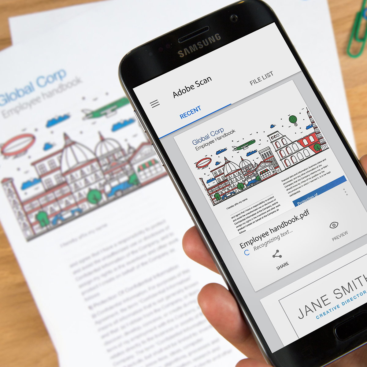 Adobe Scan - Turn Paper into Intelligent Digital Documents