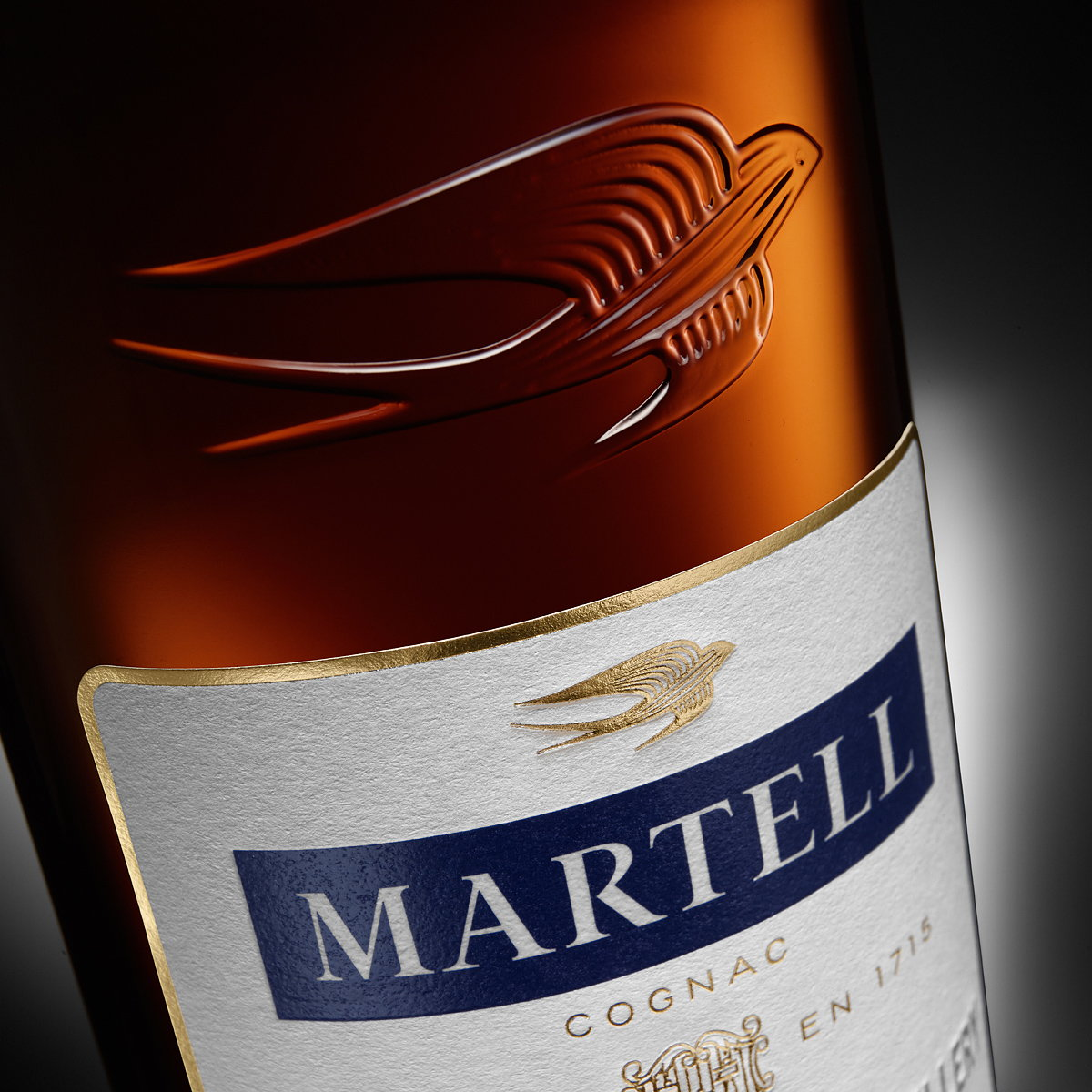 Nude Brand Creation Designs Packaging for Martell VS Single Distillery