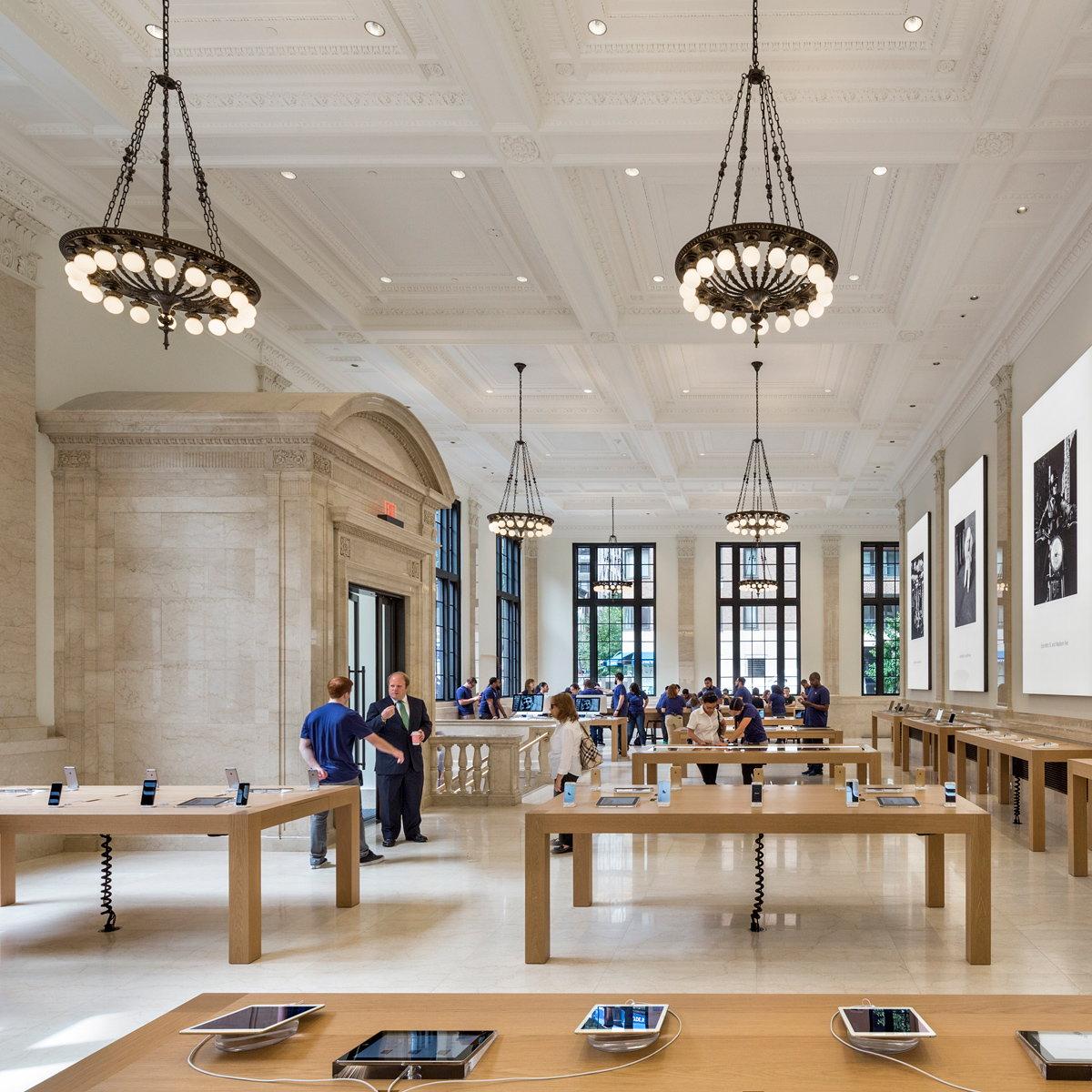 Bohlin cywinski jackson receives special commendation for apple store upper east side