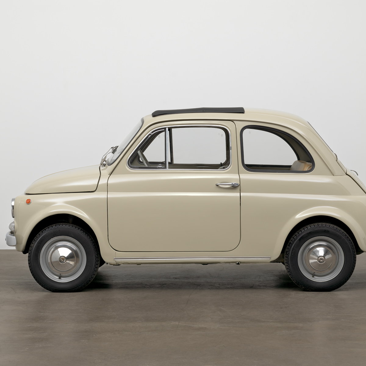 MoMA Adds Original-Condition 1968 Fiat 500 to Collection