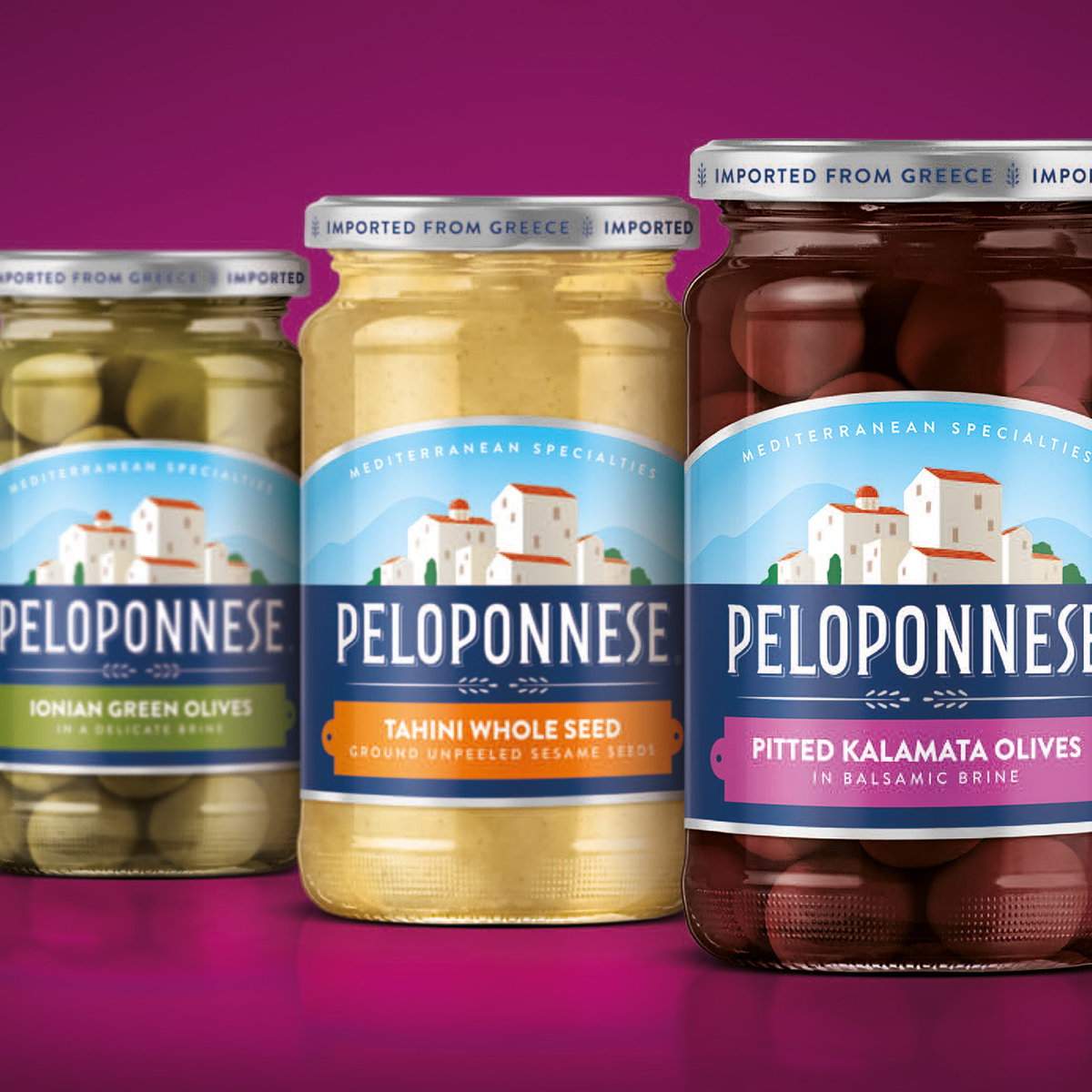 Peloponnese Relaunches with Revitalized Visual Identity to Appeal to a New Generation of Taste Adventurers