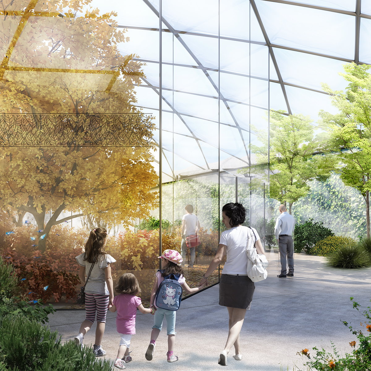 Garden of the Four Seasons by Carlo Ratti Associati