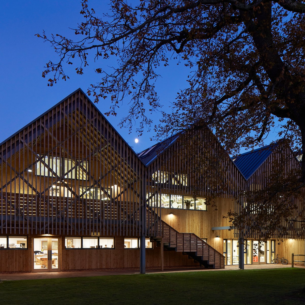 Bedales School Art and Design Building Wins 2017 RIBA National Award