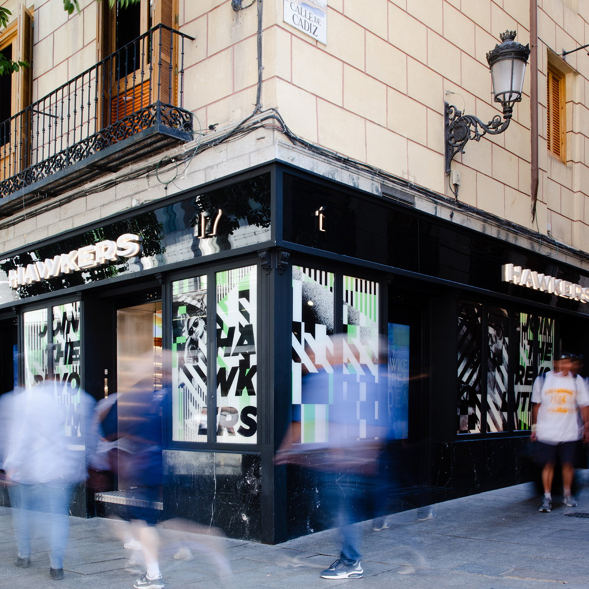 Hawkers Madrid Store by Culdesac