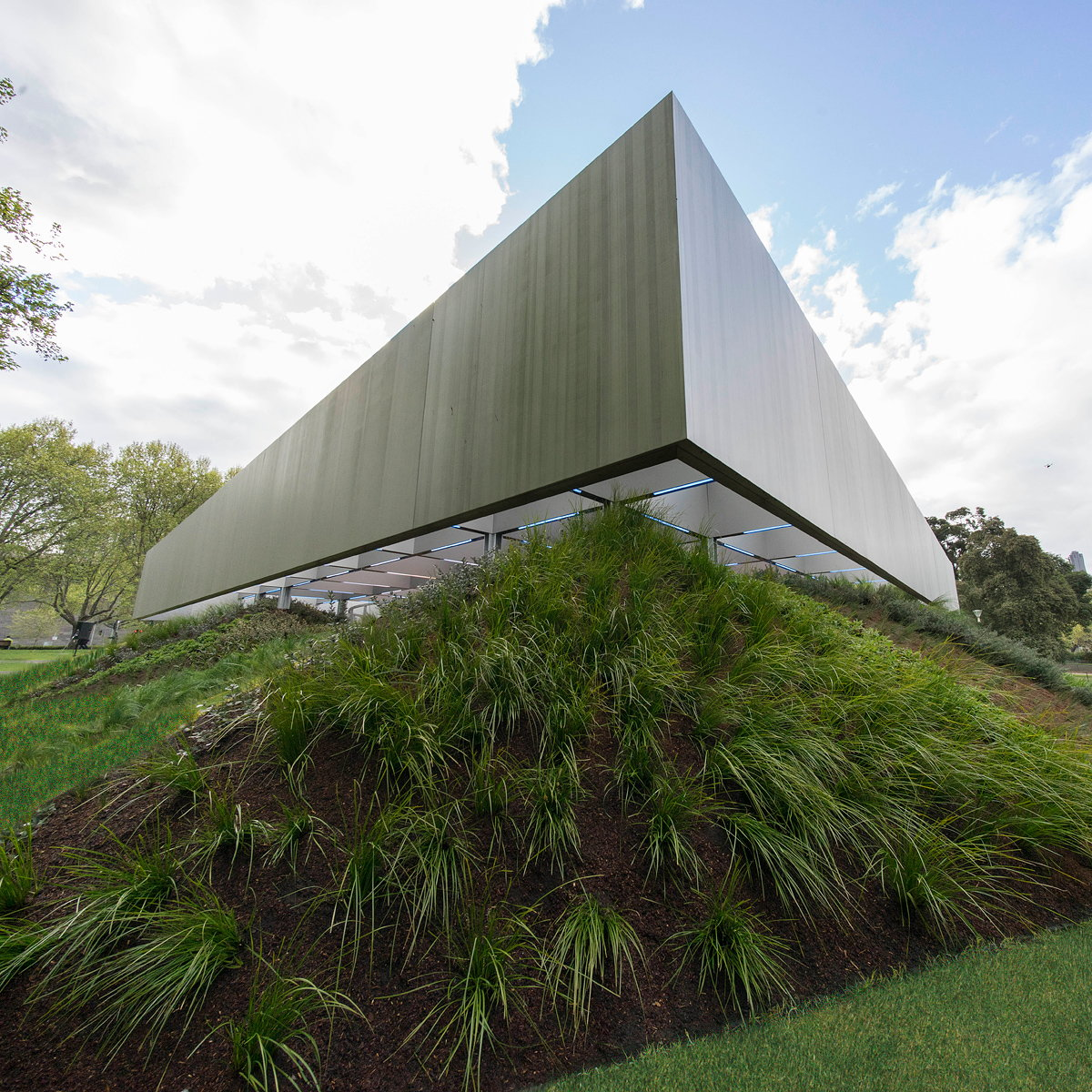 Rem Koolhaas and David Gianotten Unveil MPavilion 2017