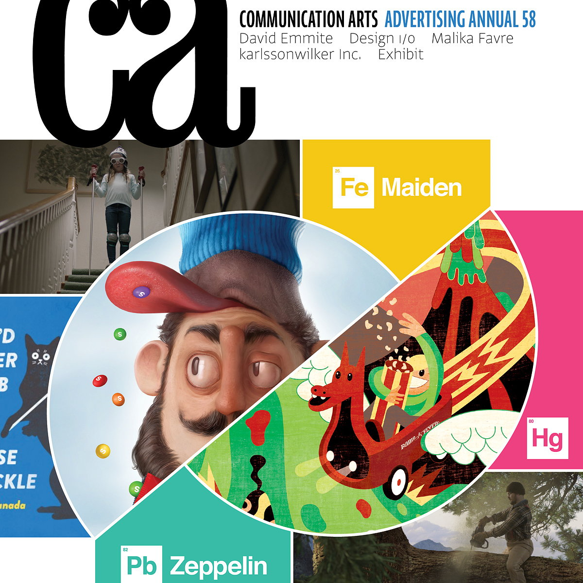 Communication Arts Publishes Advertising Annual 58