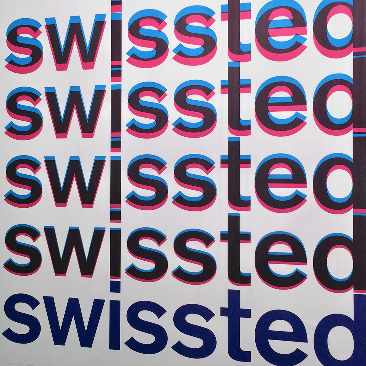 See/Hear - Type Directors Club Presents Swissted Poster Exhibition