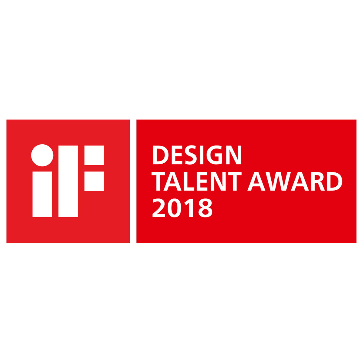 iF Design Talent Award 2018