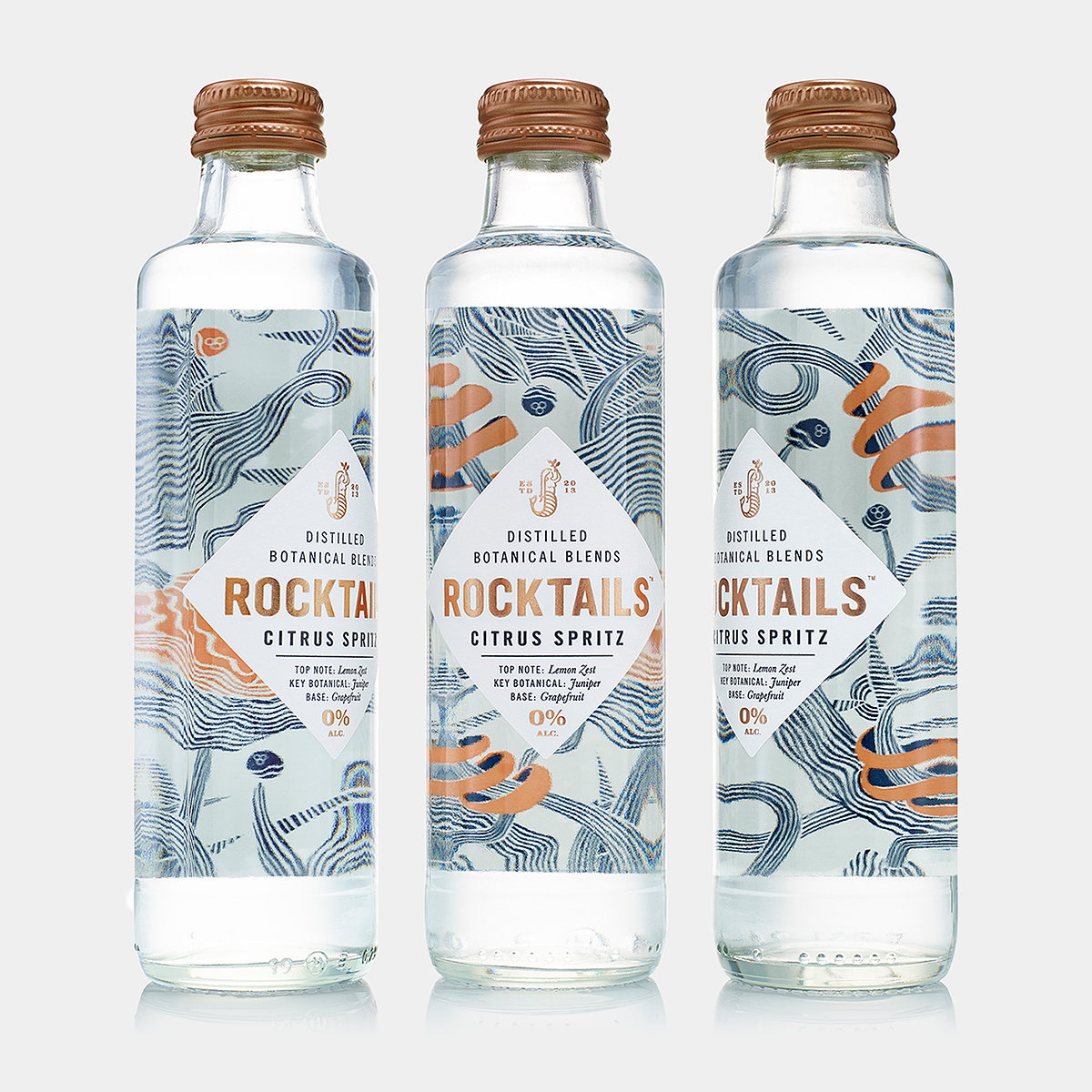 B&B Studio Delivers Sophisticated Identity for Launch of ROCKTAILS