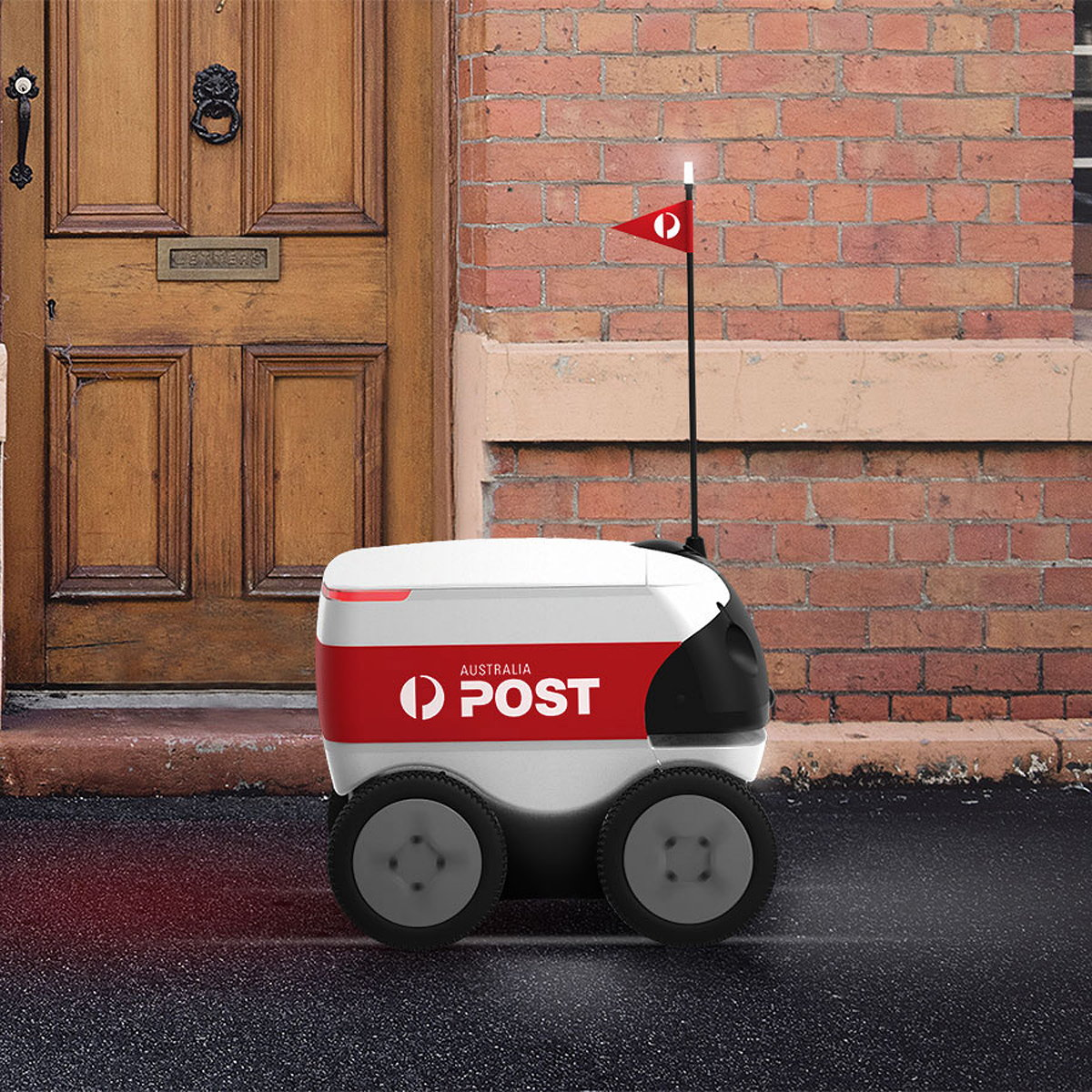 Autonomous Delivery Robot by Design and Industry and Marathon Targets