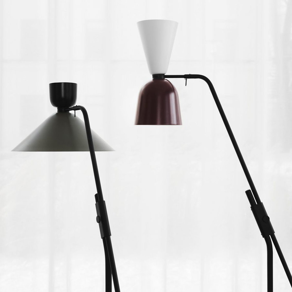 Hem Unveils Alphabeta Floor Lamp by Luca Nichetto
