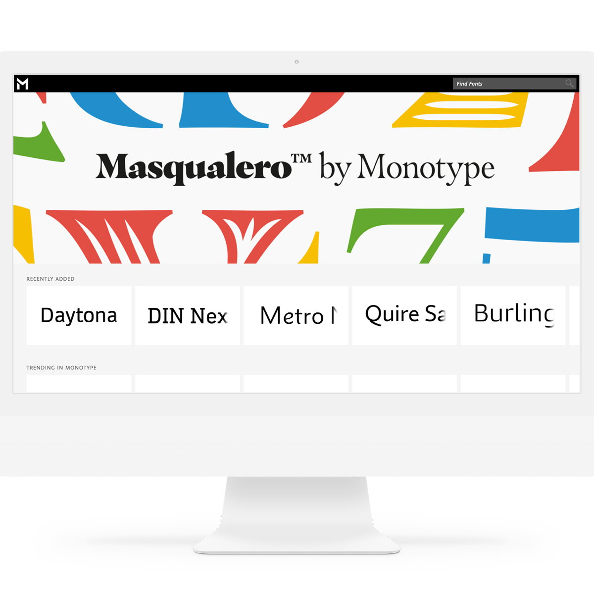 Monotype Mosaic - Cloud-Based Font Platform for Enterprises