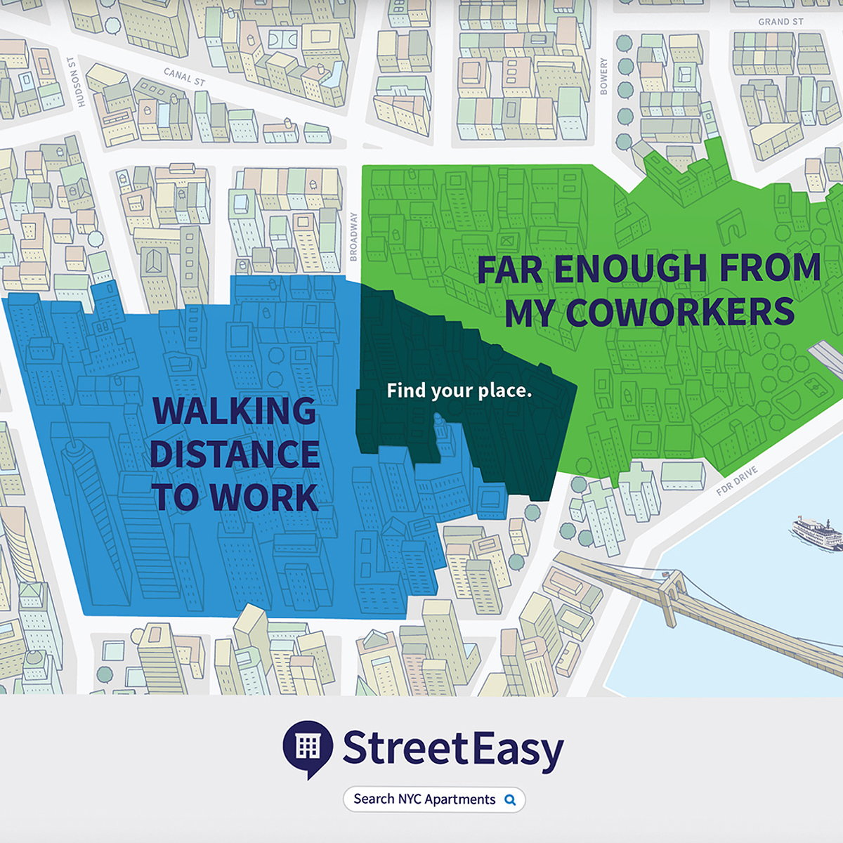 Office of Baby Creates 'Find Your Place' Ad Campaign for StreetEasy