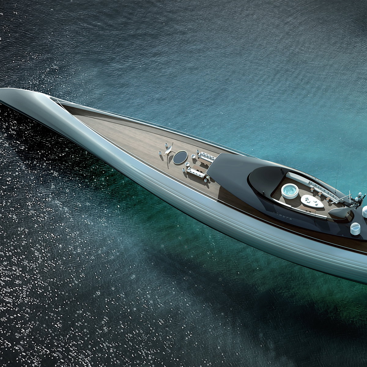Oceanco Unveils Ground-Breaking Superyacht Tuhura