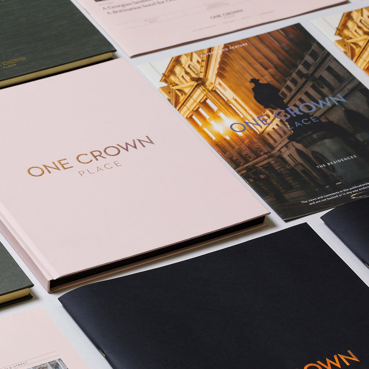 me&dave Designs Branding for One Crown Place