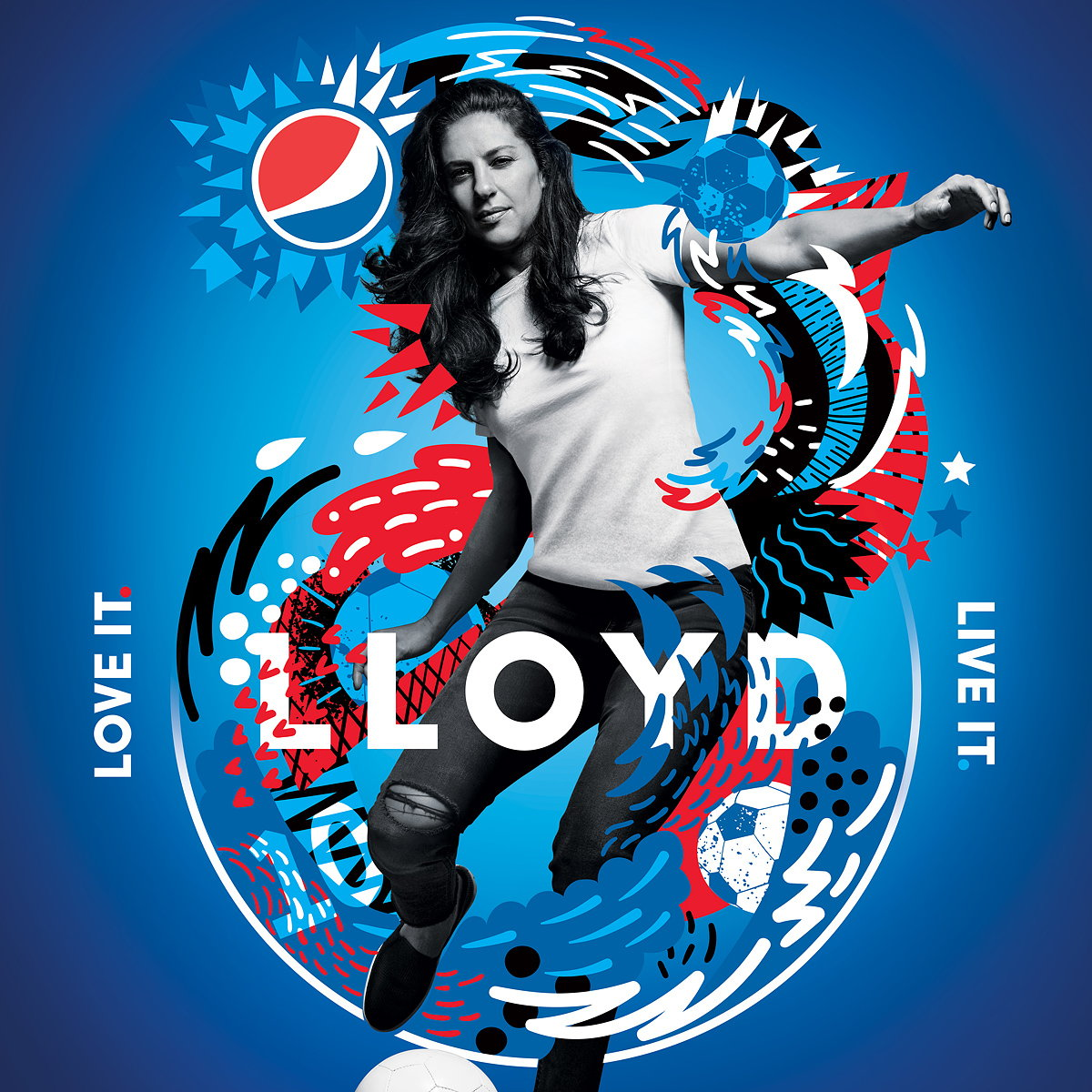 Pepsi Love It. Live It. Football. Campaign
