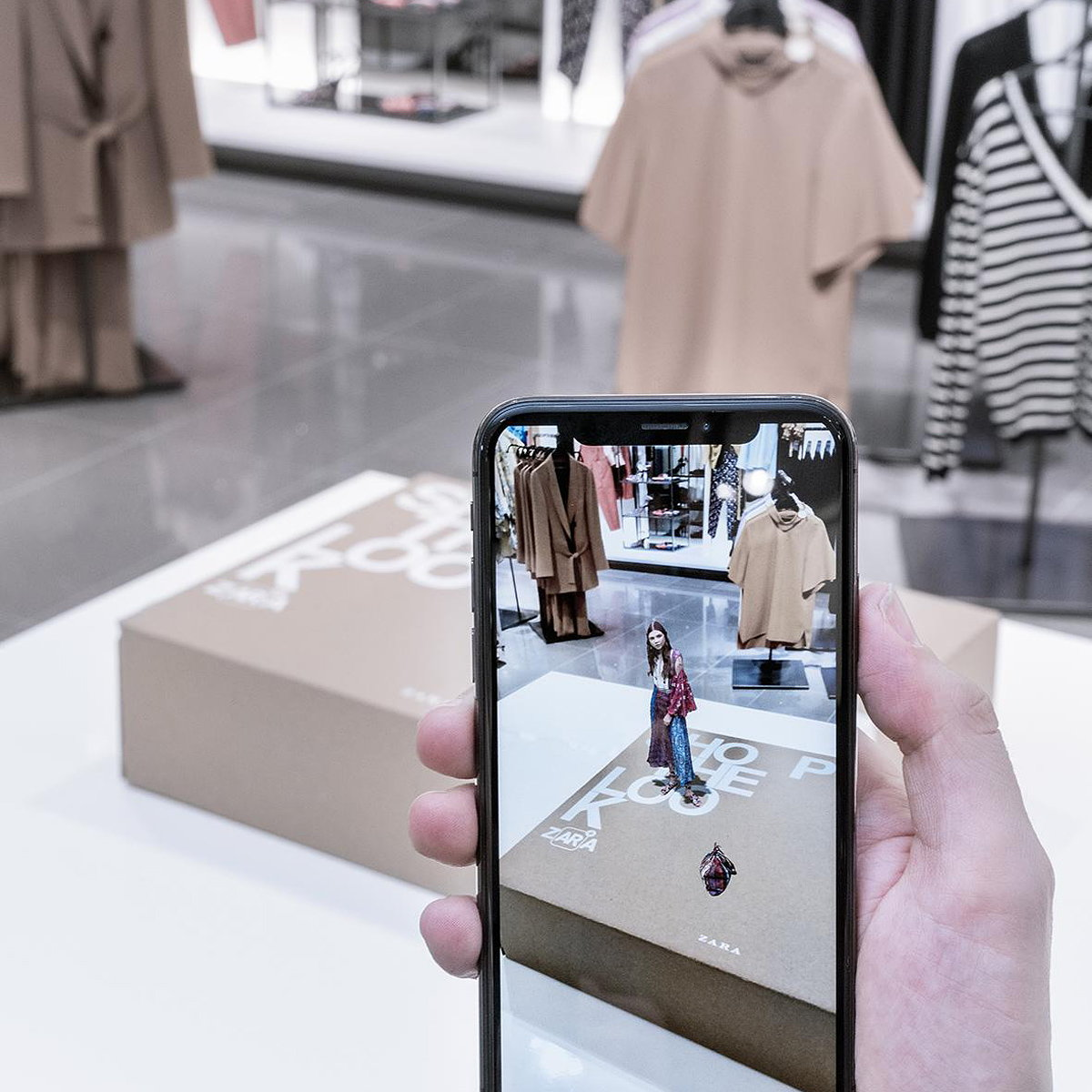 Zara to Launch Augmented Reality App