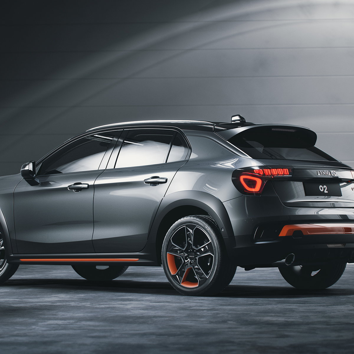 Lynk and Co Unveils 02 Crossover SUV