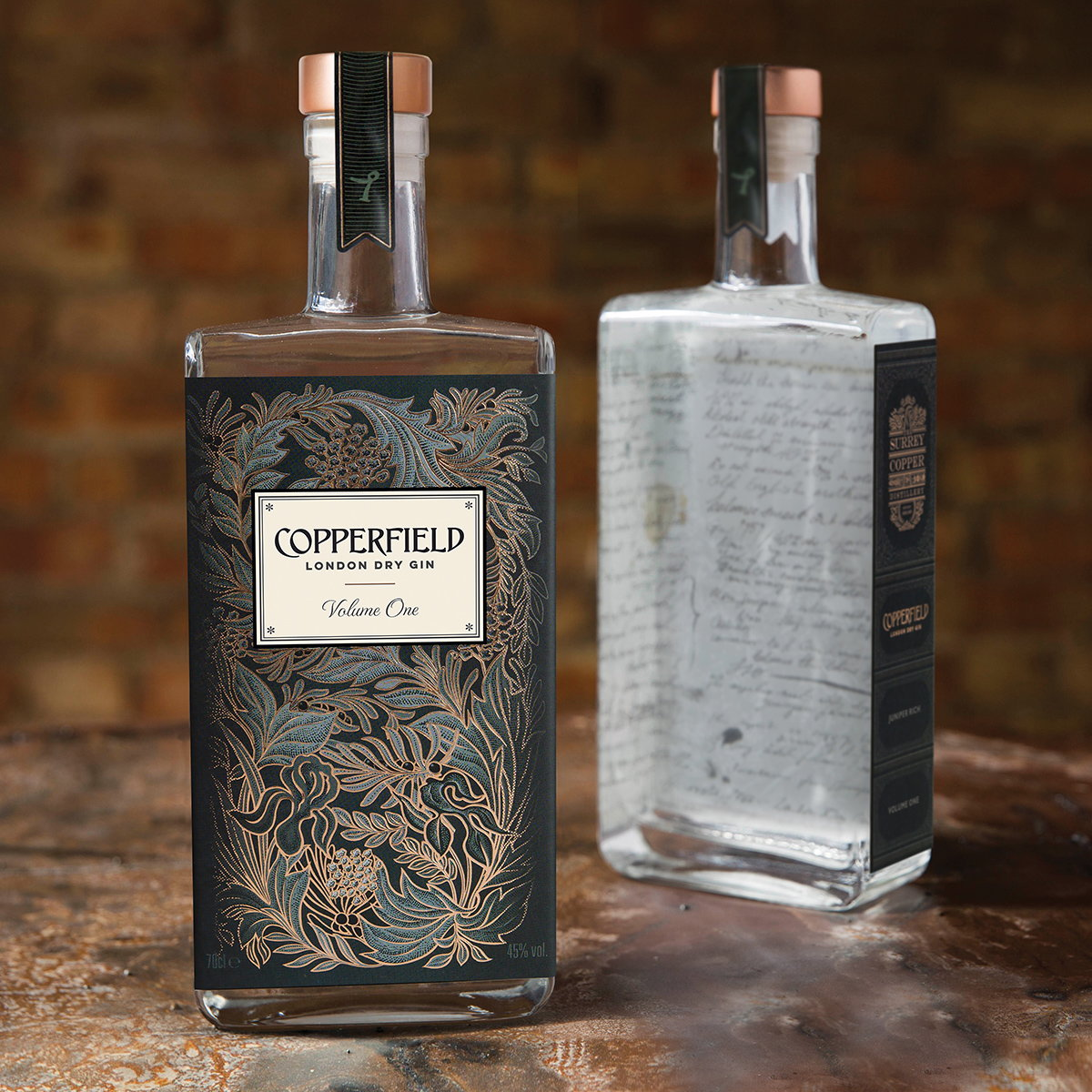 Nude Brand Creation Unveils Design for Copperfield London Dry Gin