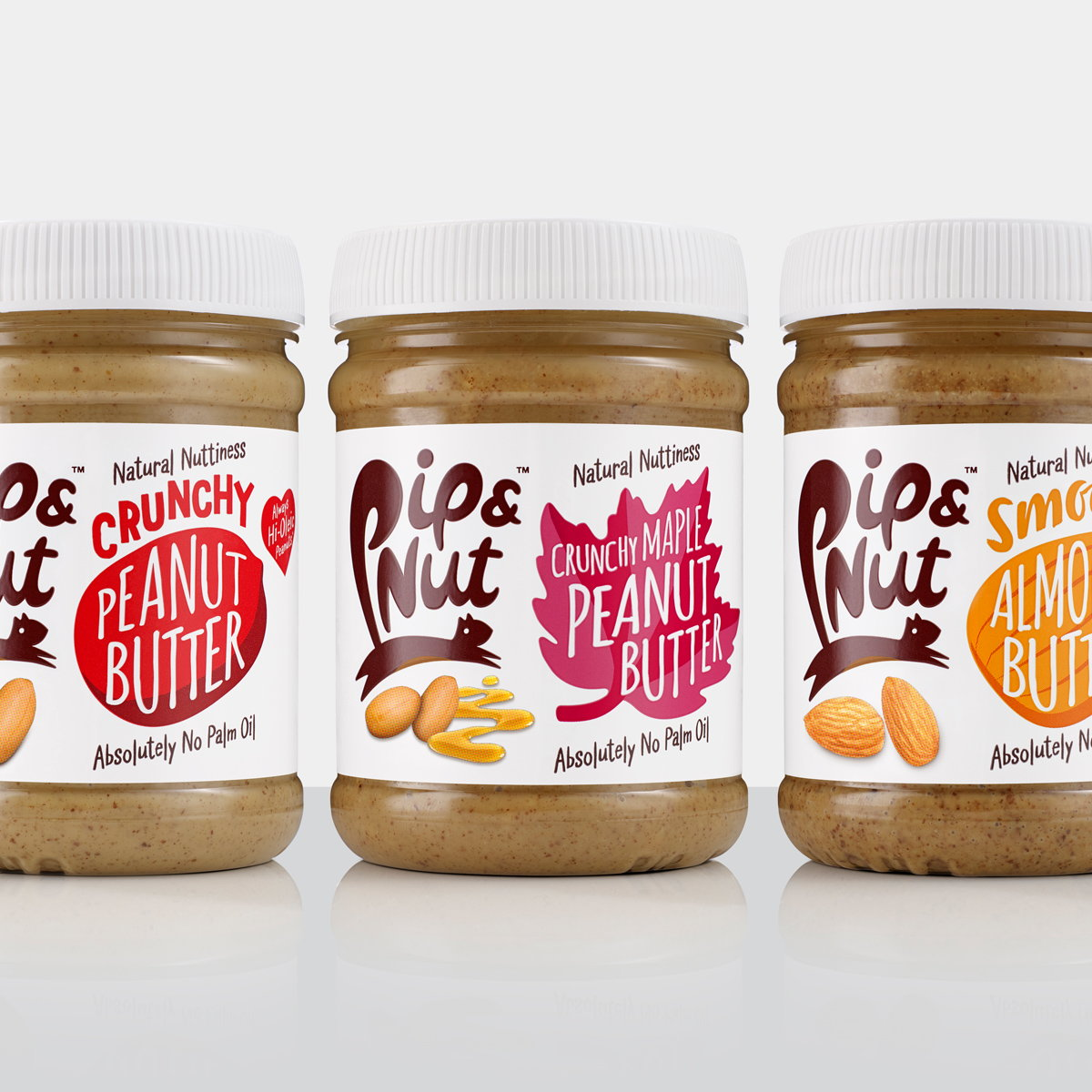 B&B Studio Refreshes Packaging for Pip and Nut