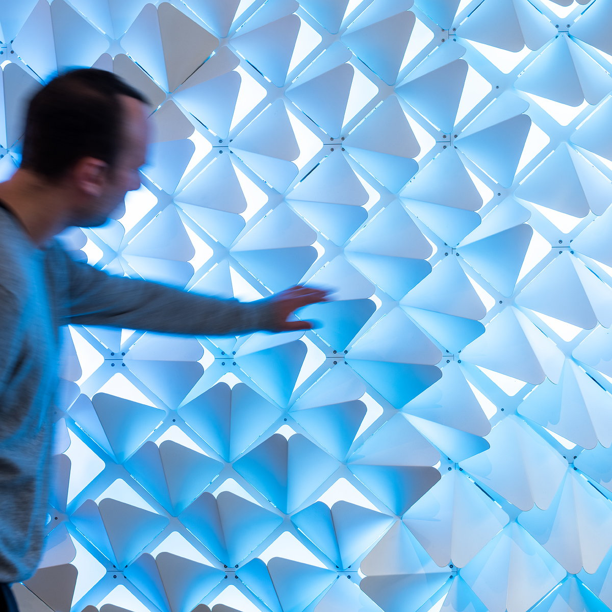 SOFTlab Creates Interactive Wall Installation for IBM Watson HQ
