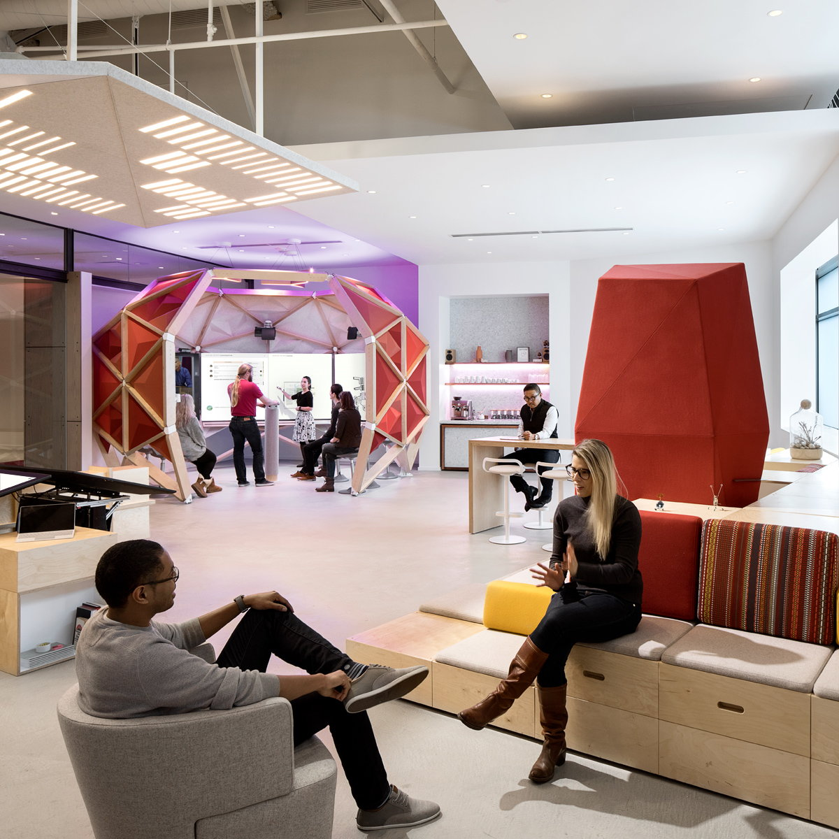 Microsoft Envisioning Center by Studio O+A