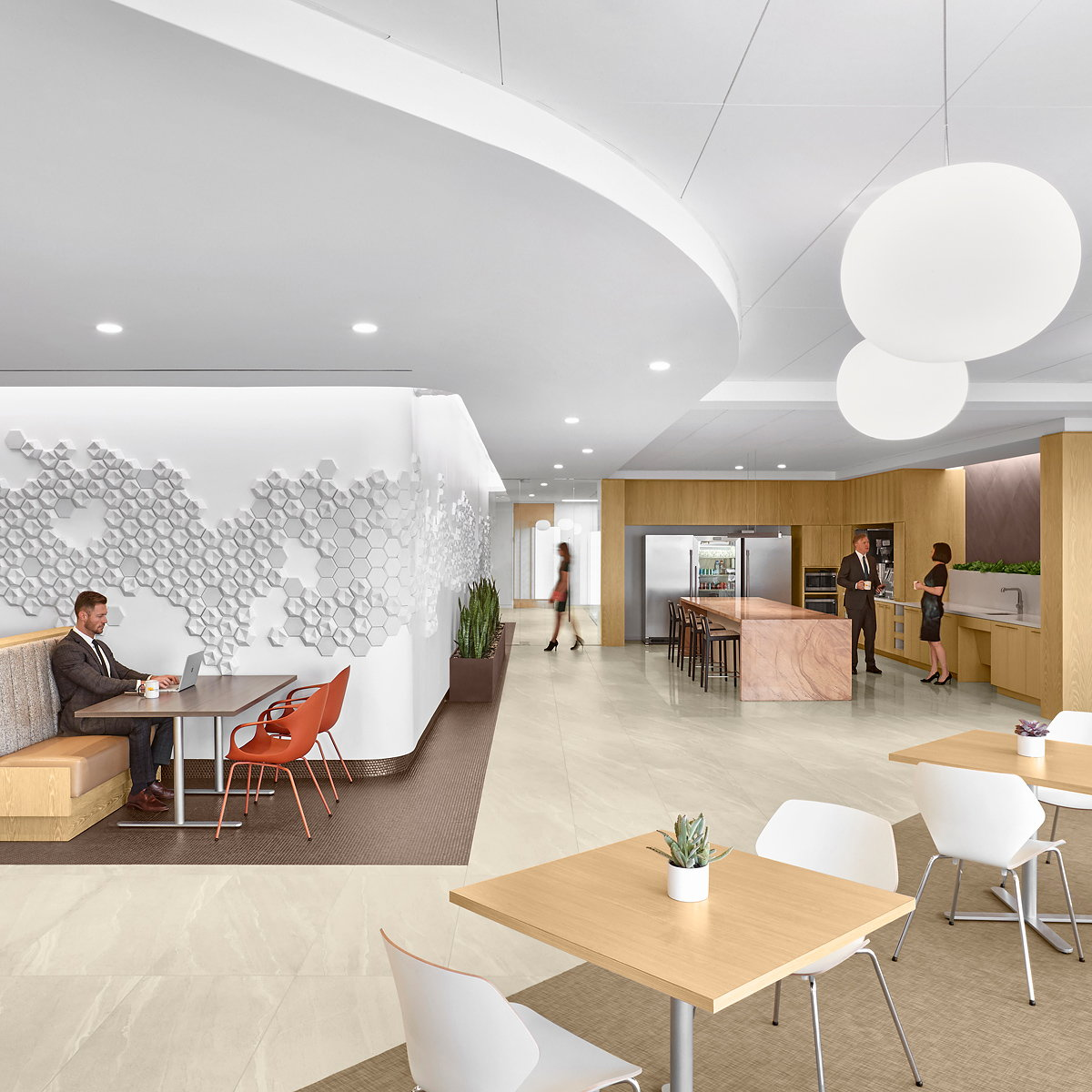 lauckgroup Designs Bright and Airy Space for Winstead Attorneys