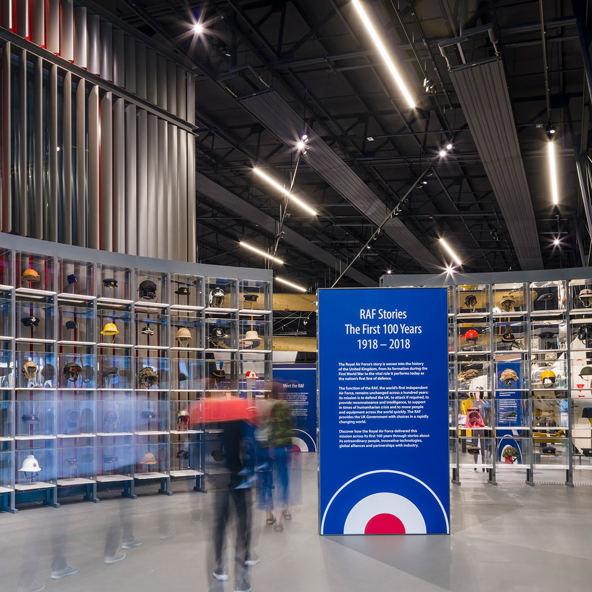 MET Studio Designs 'RAF Stories - The First 100 Years 1918-2018' Exhibition at RAF Museum London