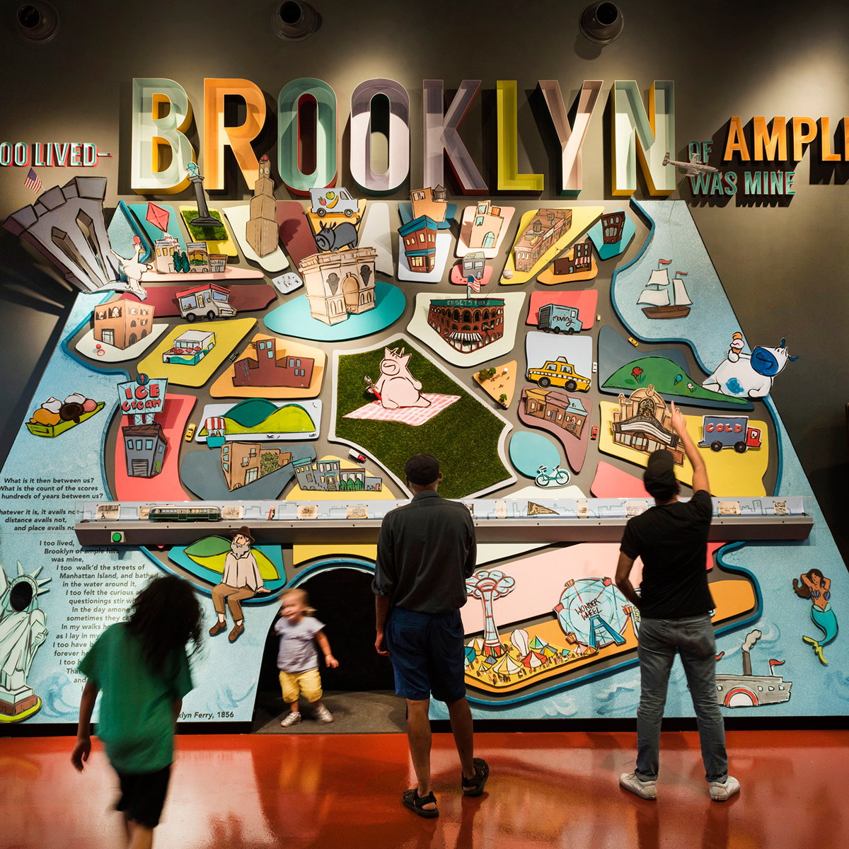 C&G Partners Designs Interactive Ice Cream Museum 'Ample Hills Creamery' Red Hook