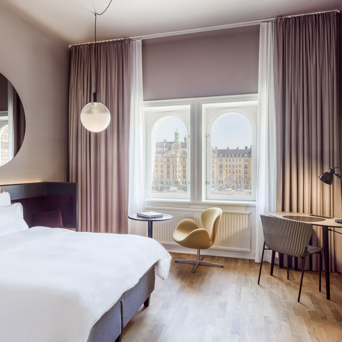 The Radisson Collection Hotel, Strand Stockholm Reveals New Look by Wingårdhs