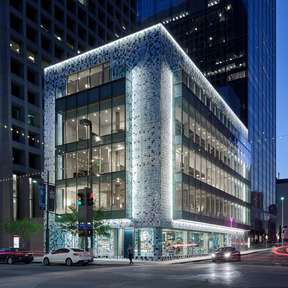 Jorge Pardo Transforms Building in Dallas for Commissary