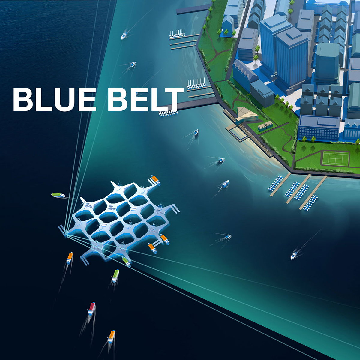 Oceanic Awakening - Designers Unite to save the Ocean and Concept the Cities of Tomorrow