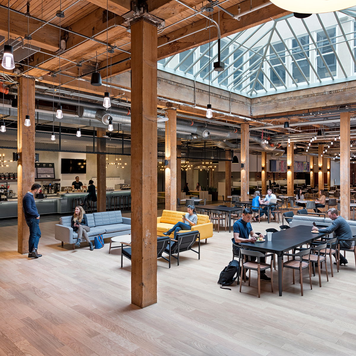 Adobe San Francisco Town Hall by Valerio Dewalt Train