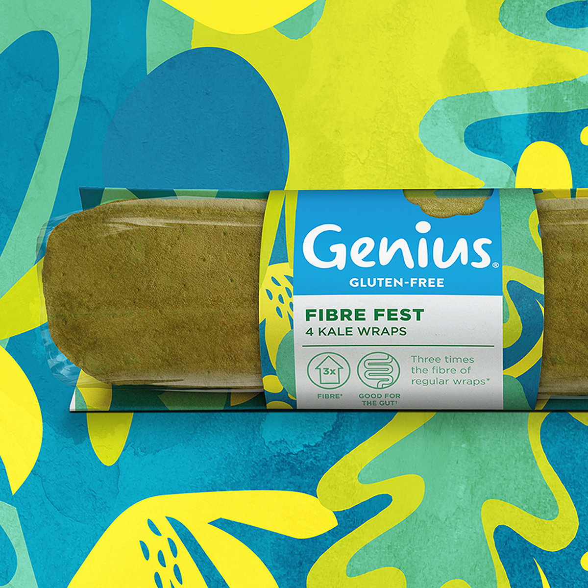 B&B Studio Delivers Identity for New Genius 'Good for the Gut' Range