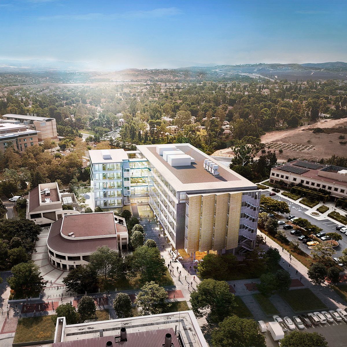 LMN Architects and Hathaway Dinwiddie Break Ground on New Building at UCI