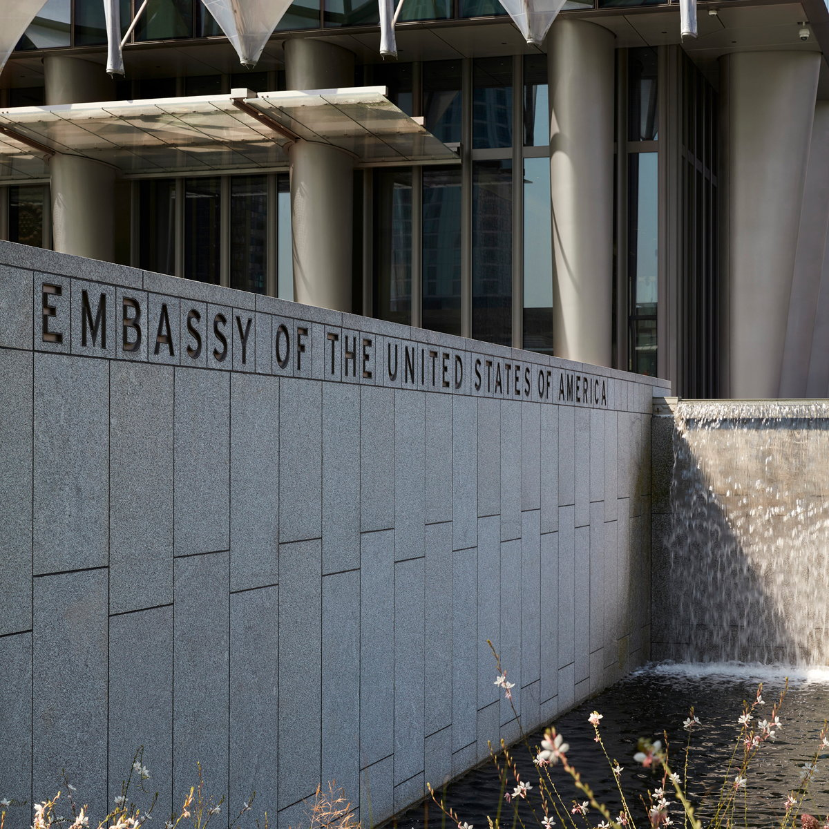 C&G Partners Designs Branding and Signage for US Embassy in London