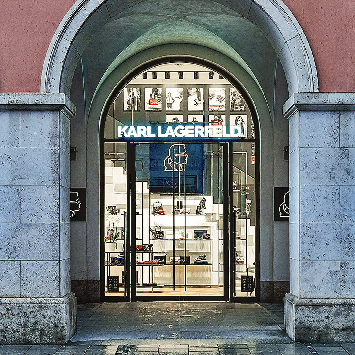 plajer and franz studio Creates New Store Concept for Karl Lagerfeld