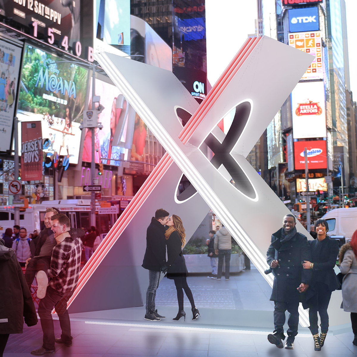 Winner of 2019 Times Square Valentine Heart Design Competition Announced