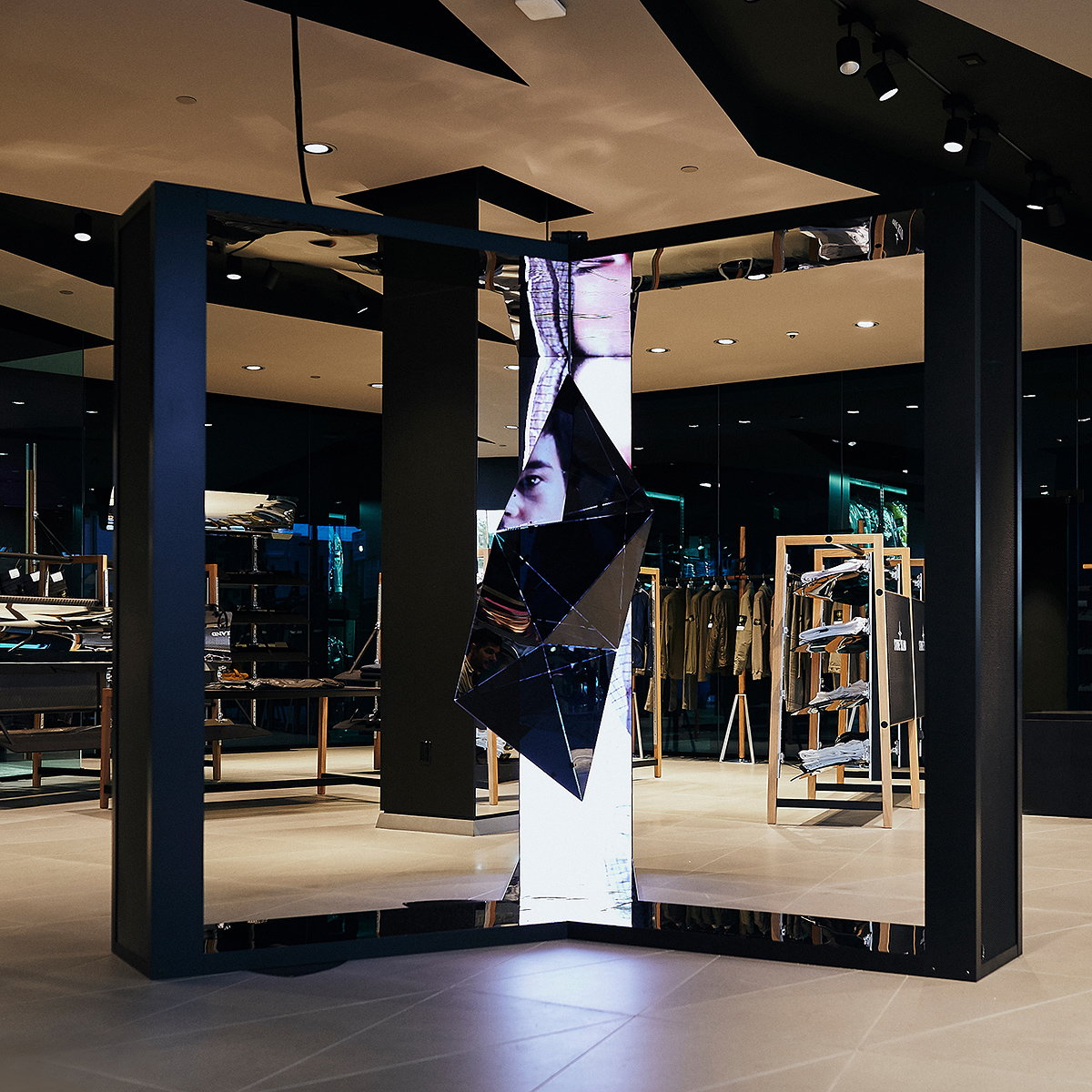 Stone Island Shadow Project 10th Anniversary Installations